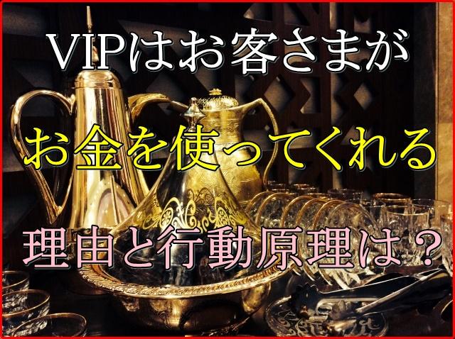 VIPなお客さまは2種類に分けられる!相手の購入に至る心理を把握するには?